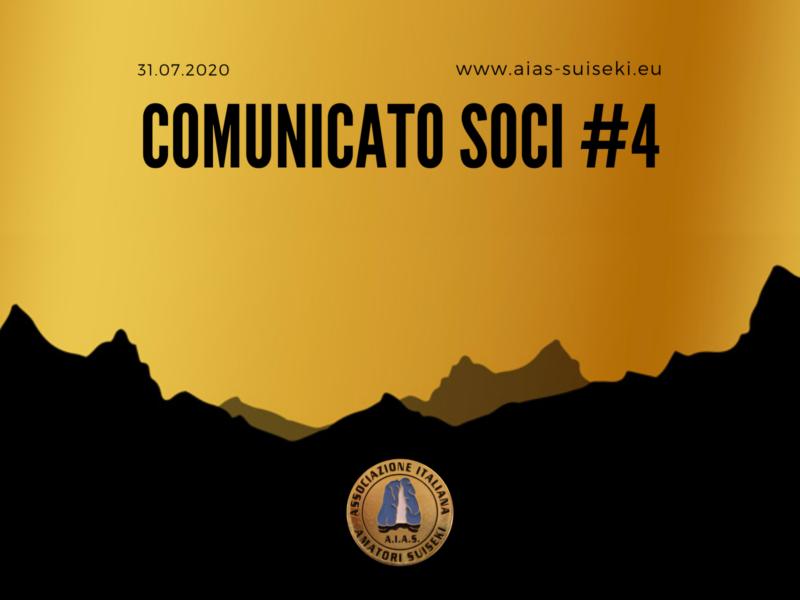 Comunicato | 31.07.2020