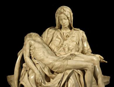 La Pietà. Dal Michelangelo alla Pietra