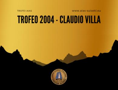 Trofeo AIAS 2004 – Claudio Villa