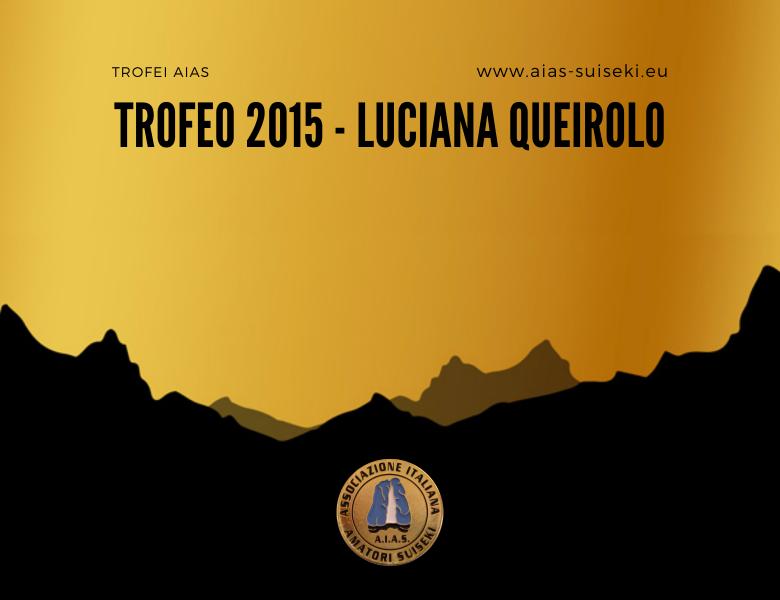 Trofeo AIAS 2015 – Luciana Queirolo
